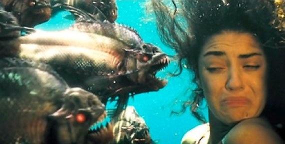 Фильм секс море кроищя про пираней