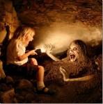Картина концептуального фотографа Джошуа Хоффайна - маэстро детских страхов