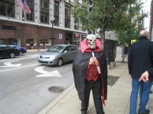 Как встречают Хэллоуин в Чикаго
