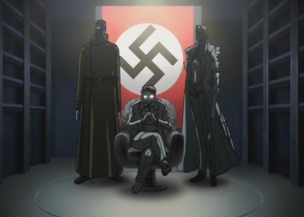 картинки серьезные аниме