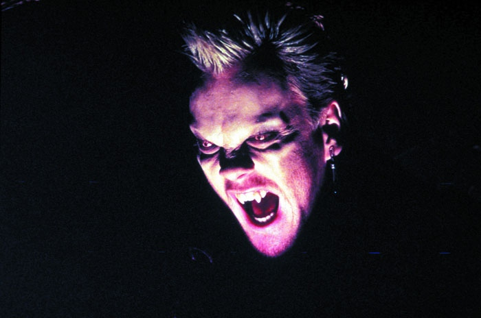 a comparison of the vampire figures from the film nosferatu and the film the lost boys