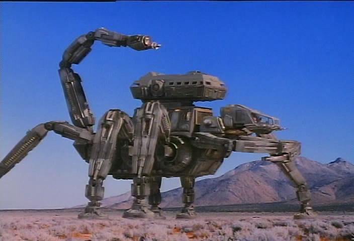 Робот, джокс / Robot Jox (1990) dvdrip