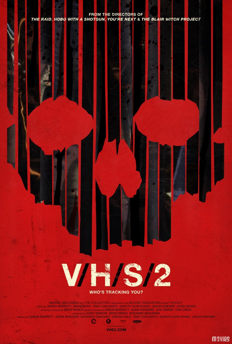V/h/s (2012): directed by adam wingard, david bruckner, ti west, glenn mcquaid, joe swanberg, and radio