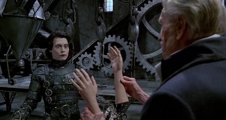 Кратко о фильме: эдвард - вроде бы человек, но вместо