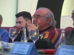 Дмитрий Глуховский (слева) и Стюарт Гордон