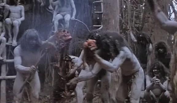 Секс в джунглях с каннибалами
