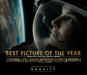 gravity oscar nominations
