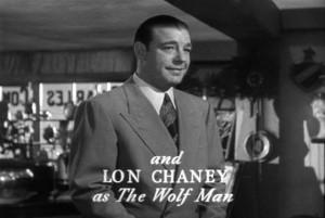 Лон Чейни мл. - актёр, сыгравший монстра во всех фильмах классической серии