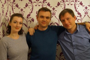 Инна Теплова, Борис Новиков и Алексей Петров
