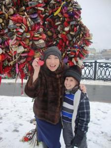 Наоми Гроссман и Бен Вульф в Москве