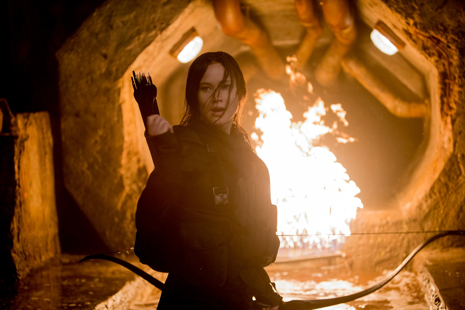 the hunger games 2 I watched this because i enjoyed the first two the third was a decline from the hunger games 1 and 2 but so much time invested compelled the watching mocking jay 2 i was hoping for a great ending for such an anticipated movie and was greatly disappointed.