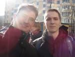 Dmitrythewind и Владимир Семенякин (справа), 2014