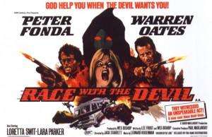 Гонки с дьяволом - постер