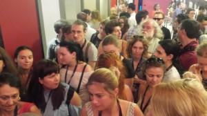 Первые зрители фильма на ММКФ