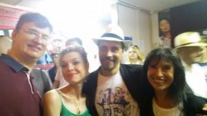 Слева направо: Дмитрий Витер, Маргарита Куклина, Андреа Марфори, Паола Мингони