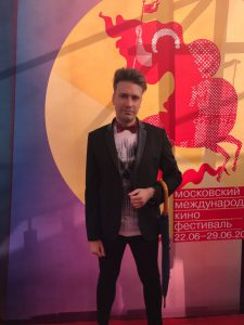 Виктор Буланкин на открытии ММКФ