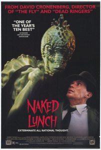 Обед нагишом - постер