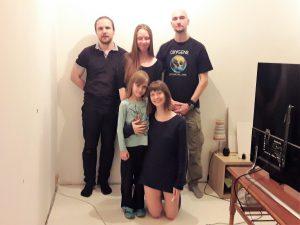 Съемочная группа на съемках
