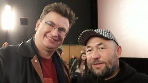 Дмитрий Витер и Тимур Бекмамбетов (справа). Фестиваль Амфест, Москва, сентябрь 2018