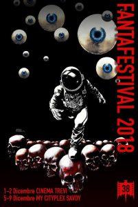 Постер кинофестиваля FANTAFESTIVAL 2018