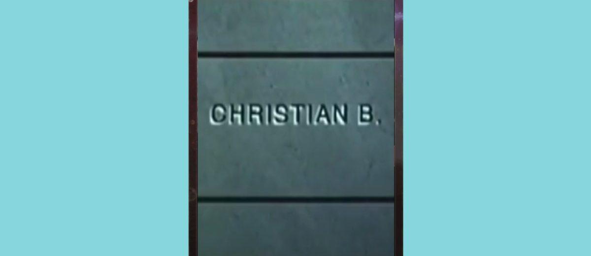 Кристиан Б. - кадр 1