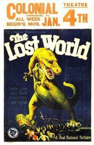 Затерянный мир - постер