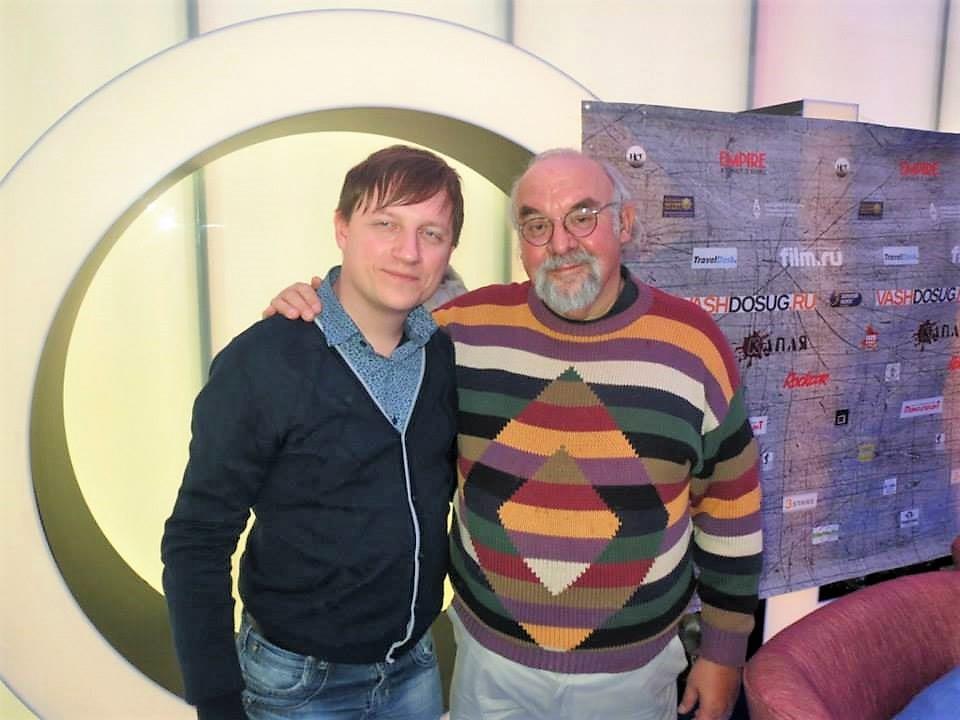 Стюарт Гордон с Алексеем Петровым (MaxCady), 2014