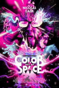 Цвет из иных миров - постер