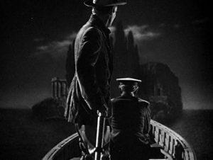 Остров мертвых - кинореконструкция одноименной картины.