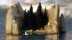"""Картина """"Остров мёртвых"""" Арнольда Бёклина."""